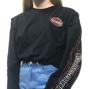 Harley Davidson Vintage Long Sleeve Shirt